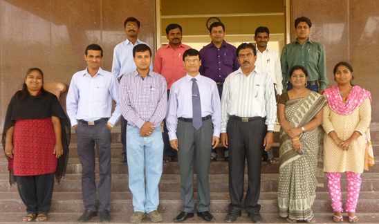 Faculties with Director and Librarian
